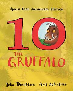 The-Gruffalo-10th-Anniversary-Edition-Julia-Donaldson-Used-Good-Book