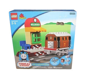 Lego Duplo Thomas The Tank Engine Toby At Wellsworth Station 5555