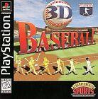 3D Baseball (Sony PlayStation 1, 1996)