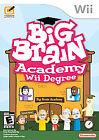 Big Brain Academy: Wii Degree (Nintendo Wii, 2007)
