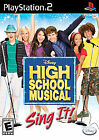 High School Musical: Sing It Bundle (Sony PlayStation 2, 2007)
