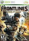 Frontlines: Fuel of War  (Xbox 360, 2008) (2008)
