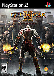 God-of-War-II-Sony-PlayStation-2-2007-Black-Label-Complete