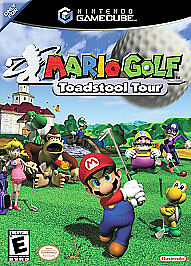 Mario Golf: Toadstool Tour (Nintendo GameCube, 2003) NEW