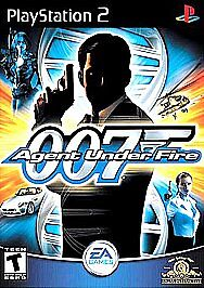 James Bond 007 In Agent Under Fire Sony PlayStation 2, 2002  - $9.00
