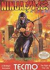 Ninja Gaiden Nintendo Video Games