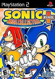 Sonic-Mega-Collection-Plus-Sony-PlayStation-2-2004-Greatest-Hits-COMPLETE-PS2