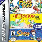 Mouse Trap/Operation/Simon (Nintendo Game Boy Advance, 2005)