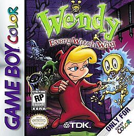wendy every witch way nintendo game boy color 2001 ebay