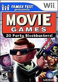 Family Fest Presents: Movie Games (Nintendo Wii, 2008)