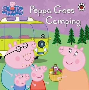 BRAND-NEW-PEPPA-PIG-PEPPA-GOES-CAMPING-Toddler-book-Hardcover-book