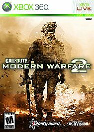 Call of Duty: Modern Warfare 2 Xbox 360 Game Only 26n One Compatible