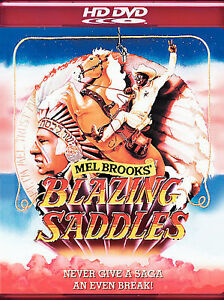 """Blazing Saddles  HD DVD  [BRAND NEW]   """"FREE ONE DAY SHIPPING""""    (VERY FUNNY)!!"""