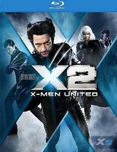 X2: X-Men United (Blu-ray Disc, 2009) NEW