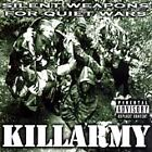 Silent Weapons for Quiet Wars by Killarmy (CD, Aug-1997, Priority Records)