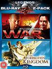 War / Forbidden Kingdom (Blu-ray, 2010, 2-Disc Set)