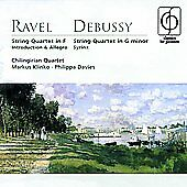 FREE US SHIP. on ANY 3+ CDs! NEW CD : Ravel/Debussey: String Quartets