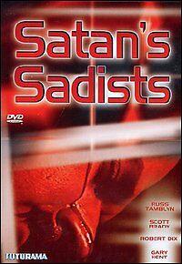 Dvd **SATAN'S SADISTS** nuovo sigillato 1969