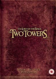SPECIAL-EDITION-WIDESCREEN-Lord-Of-The-Rings-Two-Towers-DVD-2005-4-Disc-Set