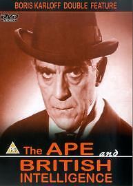 The Ape / British Intelligence (DVD, 2005) New & Sealed