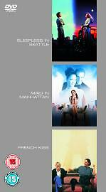 Sleepless In Seattle/Maid In Manhattan/French Kiss [DVD], Very Good DVD, Natasha