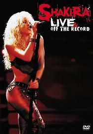 Shakira-Live-And-Off-The-Record-DVD-2004-brand-new-and-sealed