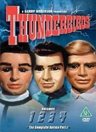 Thunderbirds: DVD Complete Collection - Part 1 - Vols. 1-4 New sealed Free p+p