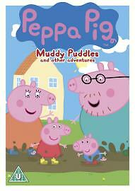 Peppa-Pig-Muddy-Puddles-And-Other-Stories-Volume-1-DVD-Acceptable-DVD-Ric