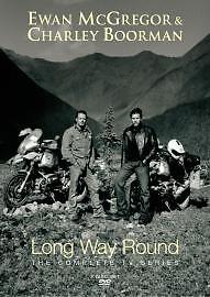 LONG WAY ROUND THE COMPLETE TV SERIES 2 DISC DVD As New & Sealed Ewan McGregor