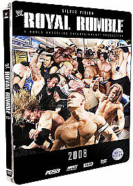 WWE - Royal Rumble 2008, Limited Edition Steel book, (DVD, 2008)
