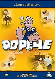 Popeye The Sailor Vol.4 (DVD, 2006)