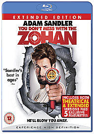 You Don't Mess With the Zohan Blu-ray (2009) Adam Sandler