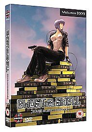 Ghost in the Shell Stand Alone Complex DVD Vol Volume 7 UK Release New Sealed R2