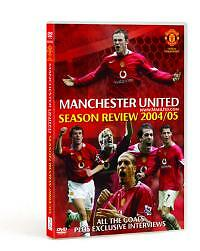 Manchester United DVD End Of Season Review 2004/2005 Man Utd FC 04/05