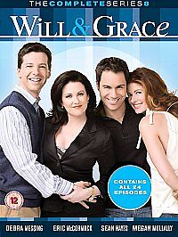 Will-And-Grace-Season-8-DVD-2006-6-Disc-Set-Box-Set