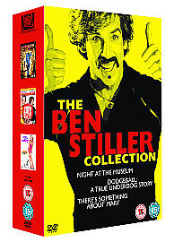 Ben Stiller Collection Night At The Museum/Dodgeball there's something about dvd