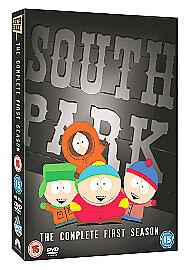South Park - Series 1 (DVD, 2007, 3-Disc Set, Box Set)