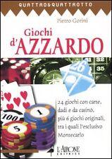 Saggi di hobbistica e tempo libero in italiano della prima edizione sul giochi