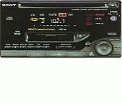Sony-WX-C570R-CD-Player-Cassette-Player-In-Dash-Receiver