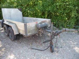 Dinkel Anhänger für Bagger mit Rampe 3000 kg