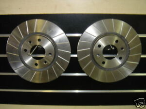 CITROEN XANTIA XSARA COUPE HDI VTS GROOVED BRAKE DISC 283MM