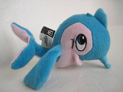 "5"" McDonald's Neopets Blue Dolphin Plush ~Blue Flotsam"