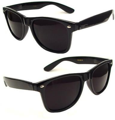 3 Pairs Wayfarer Black Frame Sunglasses Dark Lens  on Rummage