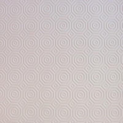 Sous Nappe Style Bulgomme 140/140cm Carrée Déco Blanc