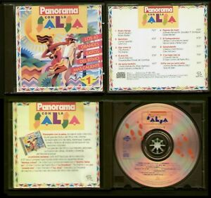 LA-SALSA-SPAIN-CD-MANZANA-PANORAMA-1993-VOL-1