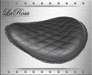 13-LaRosa-Black-Leather-Diamond-Tuk-Harley-FXST-Chopper-Custom-Mount-Solo-Seat
