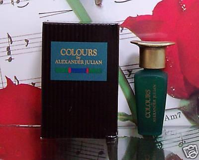Colours By Alexander Julian Cologne Mini 0.25 Fl.oz.nib