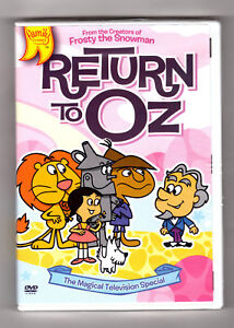 Return-to-Oz-DVD-Arthur-Rankin-Jr-Jules-Bass-Childrens-Animated-NEW