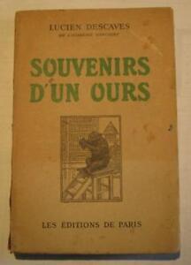 Souvenirs-d-un-ours-de-Lucien-Descaves