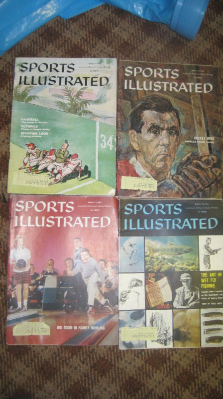 March 1960 Sports Illustrated set - 4 issues